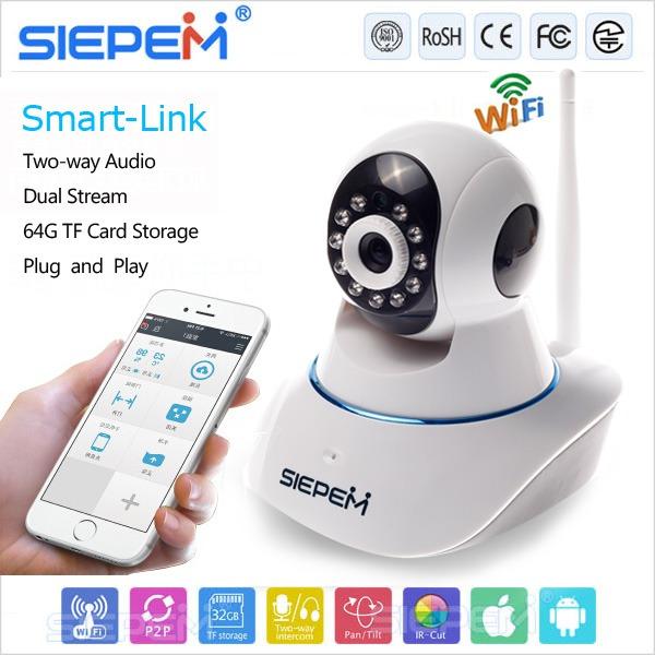 camera ip wifi siepem s6211y chính hãng, giá tốt - hình 05
