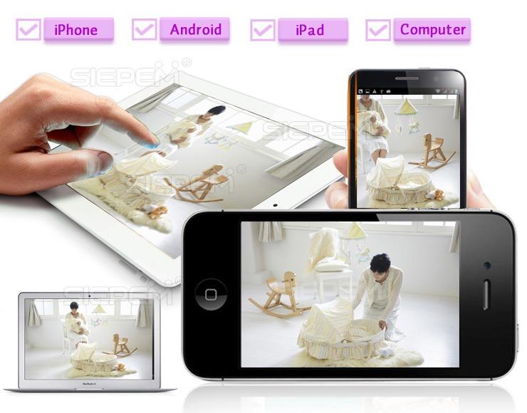 camera ip wifi siepem s6315y giám sát, quan sát không dây giá rẻ chất lượng hd - hình 07