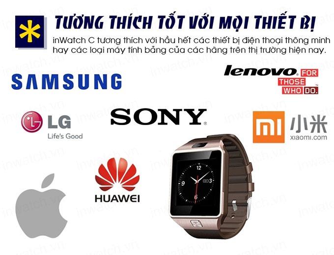 dong ho thong minh smartwatch inwatch c - tuong thich moi thiet bi