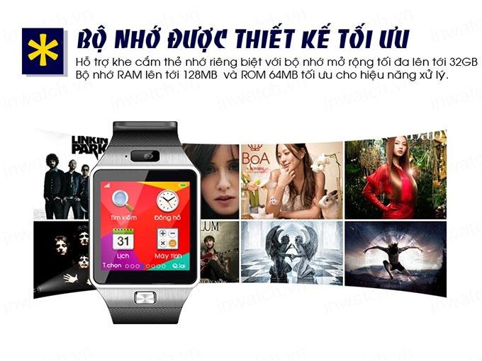dong ho thong minh smartwatch inwatch c - bo nho thiet ke toi uu