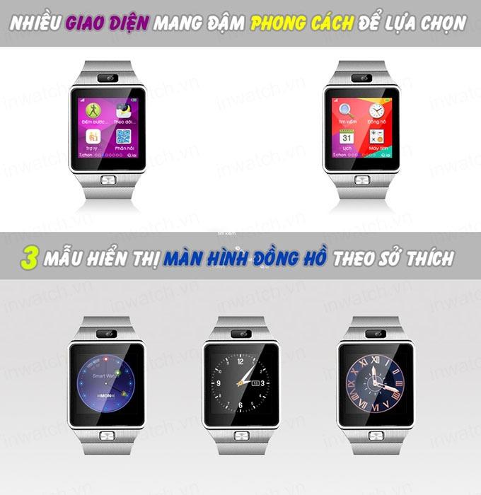 dong ho thong minh smartwatch inwatch c - nhieu giao dien de luu chon
