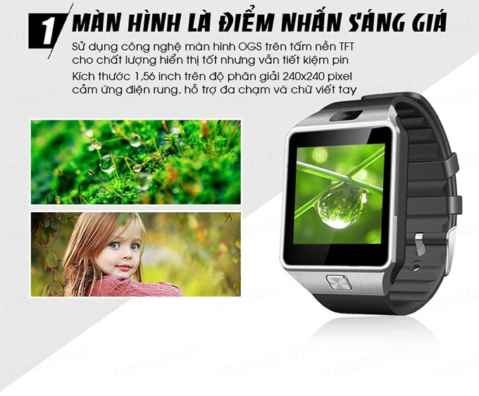 dong ho thong minh smartwatch inwatch c - man hinh