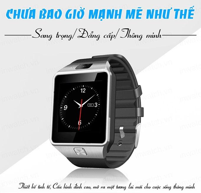 dong ho thong minh smartwatch inwatch c - sang trong, dang cap, thong minh