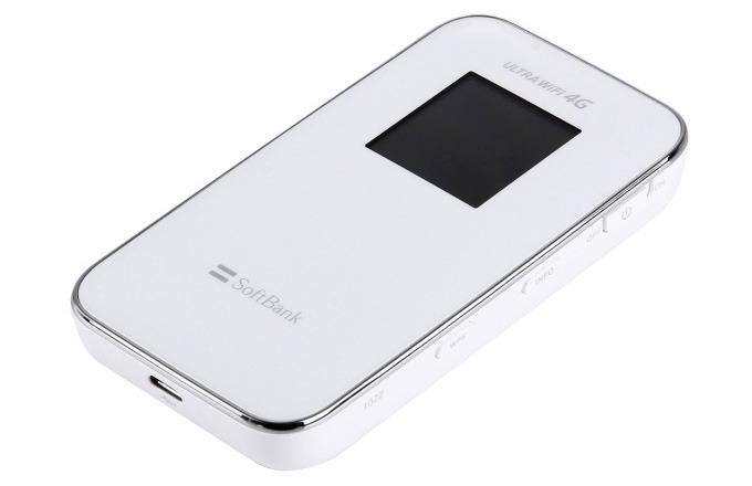 softbank 102z - thiet bi phat wifi di dong tu sim 3g 4g