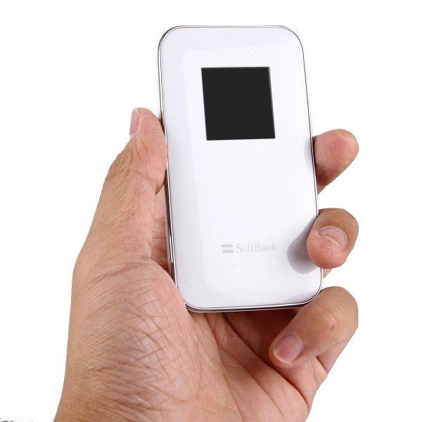 softbank 102z - bộ phát wifi di động từ sim 3g/4g - hình 04