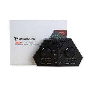 Sound Card MAX 730 - Hát Karaoke Live Stream, Có Auto-Tune, Pin Sạc 01