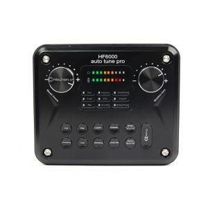 Sound card HF6000 Pro auto tune, Hát Karaoke live stream cực hay 0