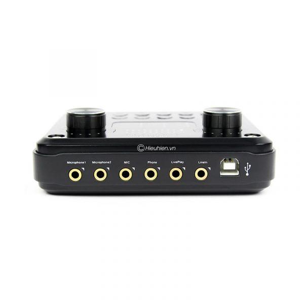 Sound card HF6000 Pro auto tune, Hát Karaoke live stream cực hay 01
