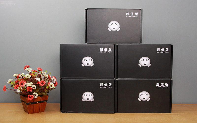 sound card xox k10 chuyên dùng hát karaoke, thu âm, hát livestream - mặt trước hộp