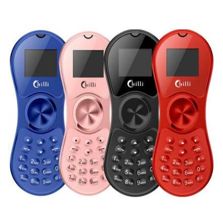 spinner phone chilli k130 - điện thoại con quay spinner tí hon giảm stress