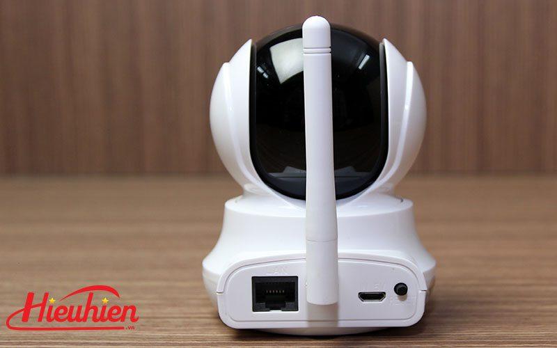 sricam sp020 - camera ip wifi thông minh, hỗ trợ thẻ nhớ 128gb - mặt sau