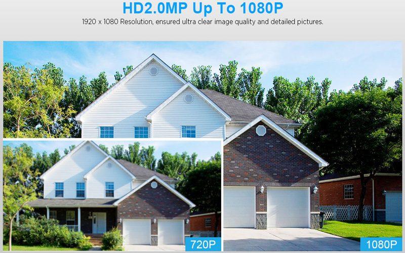 sricam sp023 1080p - camera ip wifi quan sát ngoài trời, chống nước - sân