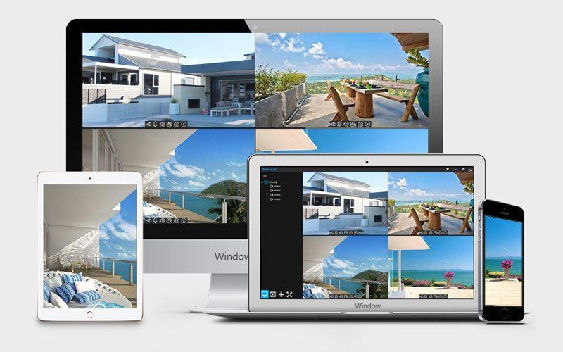 sricam sp023 1080p - camera ip wifi quan sát ngoài trời, chống nước - máy tính bảng