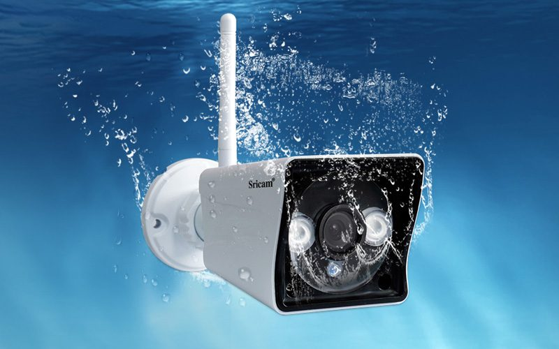 sricam sp023 1080p - camera ip wifi quan sát ngoài trời - khả năng chống nước
