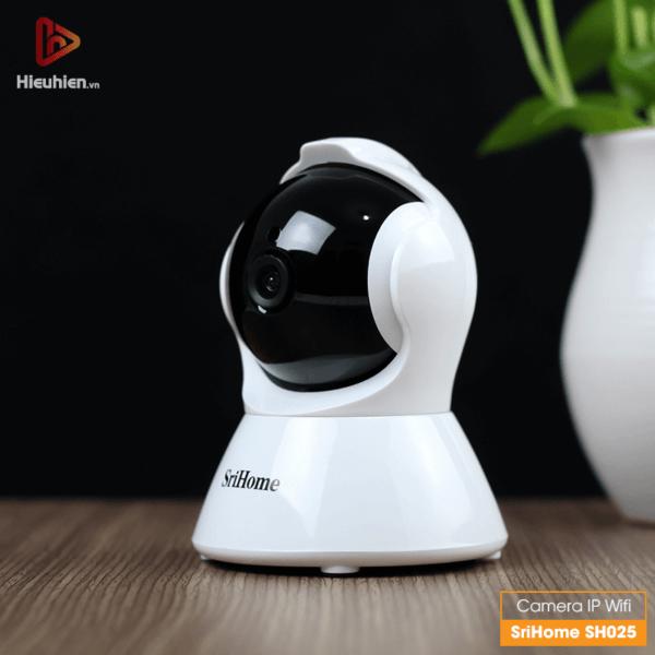 srihome sh025 camera ip wifi độ phân giải 1080p