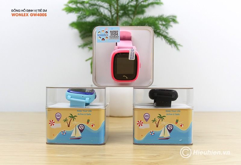 Đồng hồ định vị trẻ em Wonlex GW400S chính xác đến từng mét