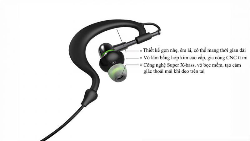 Tai nghe Bluetooth W-King S11 chính hãng cao cấp - hình 02