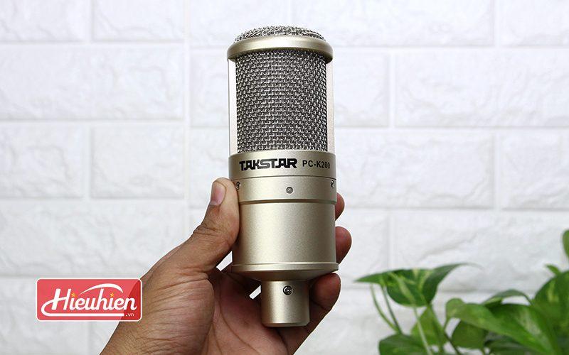 takstar pc-k200 - micro thu âm chuyên nghiệp - logo