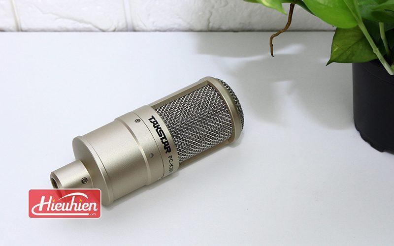 takstar pc-k200 - micro thu âm chuyên nghiệp - đầu micro
