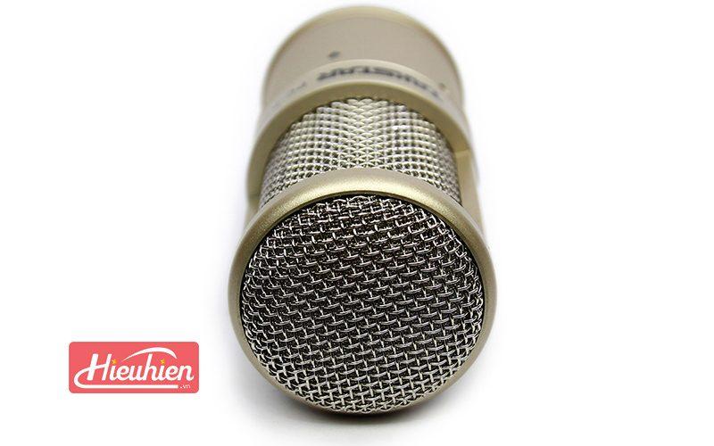 takstar pc-k200 - micro thu âm chuyên nghiệp - đầu mic bọc lưới