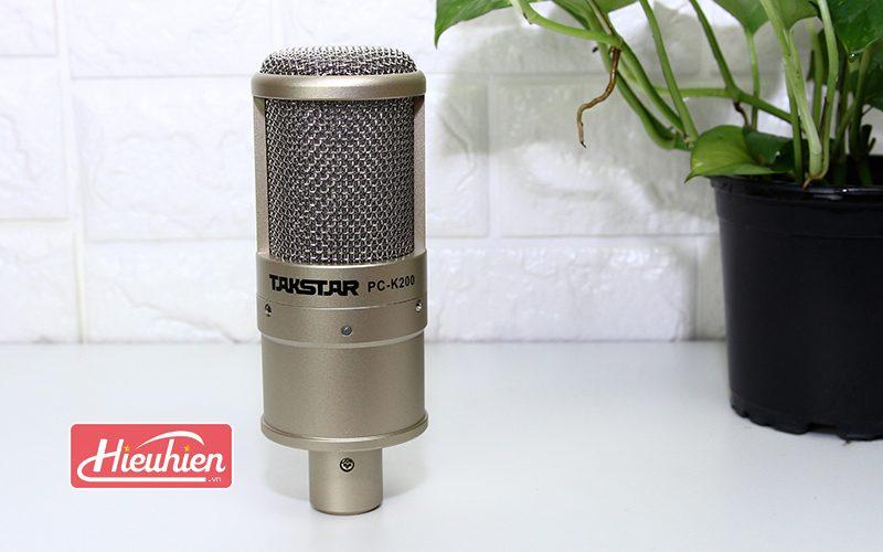 takstar pc-k200 - micro thu âm chuyên nghiệp - mặt trước