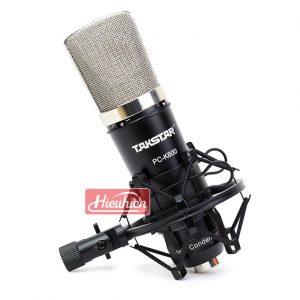 Takstar PC K600 (Đen) – Micro thu âm condenser chuyên nghiệp cao cấp 01