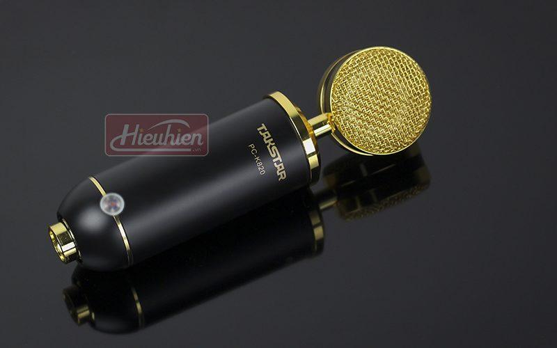 takstar pc k820 – micro thu âm chuyên nghiệp cao cấp - mặt trước