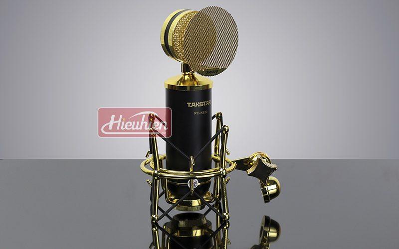 takstar pc k820 – micro thu âm chuyên nghiệp cao cấp - micro