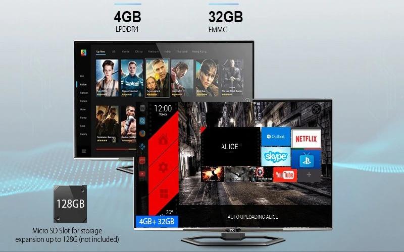 tanix tx5 max 4gb/32gb android 8.1 tv box amlogic s905x2 chính hãng - cấu hình cao