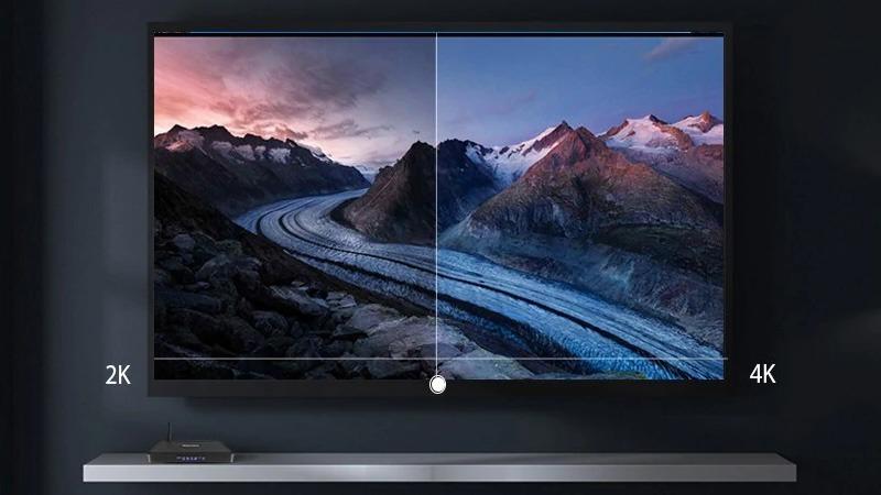 tanix tx5 max 4gb/32gb android 8.1 tv box amlogic s905x2 chính hãng - hình ảnh sắc nét