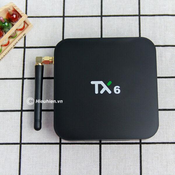 tanix tx6 android 9.0 tv box allwinner h6 cấu hình ram 3gb rom 32gb - hình 01