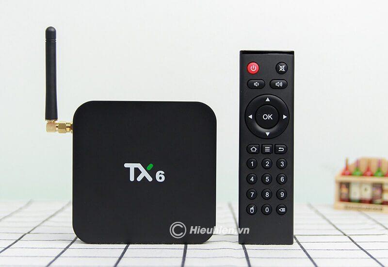 tanix tx6 android 9.0 tv box allwinner h6 cấu hình ram 3gb rom 32gb - hình 09