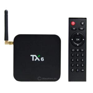 tanix tx6 android 9.0 tv box allwinner h6 cấu hình ram 3gb rom 32gb