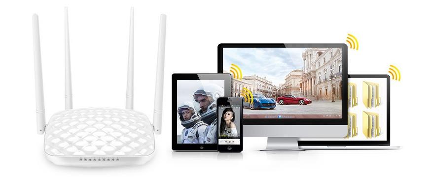 tenda fh456 - bộ phát wifi chuẩn n 450mbps chính hãng, giá tốt - hình 06