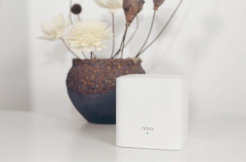 tenda nova mw3 - hệ thống wifi mesh cho gia đình, phủ sóng rộng 300m2 (3 bộ phát) - logo