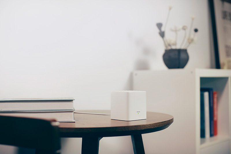 tenda nova mw3 - hệ thống wifi mesh cho gia đình, phủ sóng rộng 300m2 (3 bộ phát) - nhỏ gọn