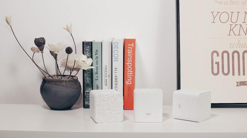tenda nova mw3 - hệ thống wifi mesh cho gia đình, phủ sóng rộng 300m2 (3 bộ phát) - bộ 3 cục