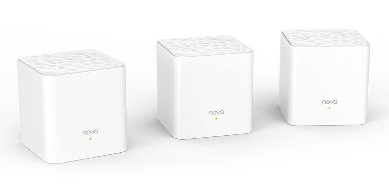 tenda nova mw3 - hệ thống wifi mesh cho gia đình, phủ sóng rộng 300m2 (3 bộ phát) - 3 bộ