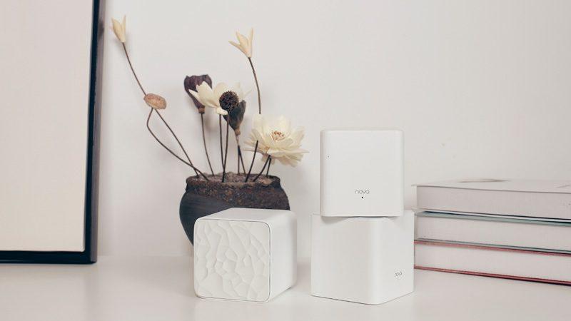 tenda nova mw3 - hệ thống wifi mesh cho gia đình, phủ sóng rộng 300m2 (3 bộ phát) - thiết kế đẹp