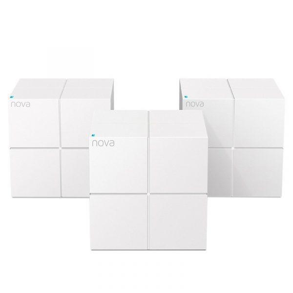 tenda nova mw6 - hệ thống wifi mesh cho gia đình, phủ sóng rộng 500m2 (3 bộ phát)
