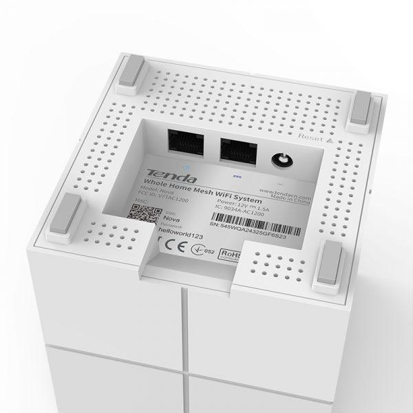 tenda nova mw6 - hệ thống wifi mesh cho gia đình, phủ sóng rộng 500m2 (3 bộ phát) - hình 04