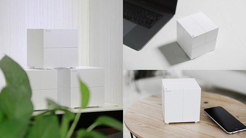 tenda nova mw6 - hệ thống wifi mesh cho gia đình, phủ sóng rộng 500m2 (3 bộ phát) - tiện lợi