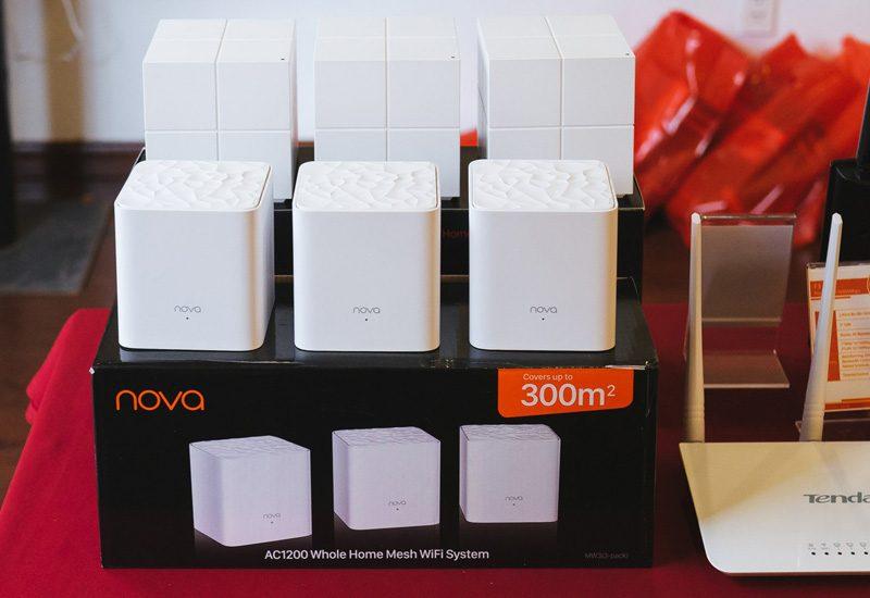 tenda nova mw6 - hệ thống wifi mesh cho gia đình, phủ sóng rộng 500m2 (3 bộ phát) - mw3