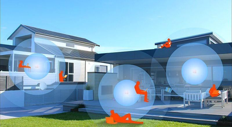 tenda nova mw6 - hệ thống wifi mesh cho gia đình, phủ sóng rộng 500m2 (3 bộ phát) - phủ sóng