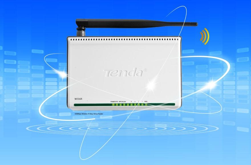 tenda w316r - bộ phát wifi chuẩn n 150mbps chính hãng, giá tốt - hình 04