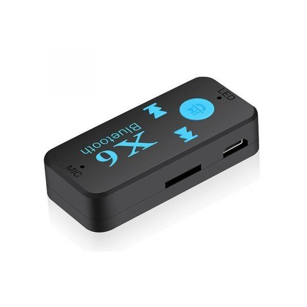 Thiết bị kết nối Bluetooth X6 cho Xe hơi ô tô, Loa, Amply 04