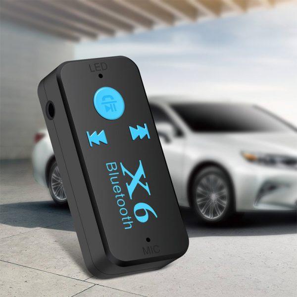 Thiết bị kết nối Bluetooth X6 cho Xe hơi ô tô, Loa, Amply 08