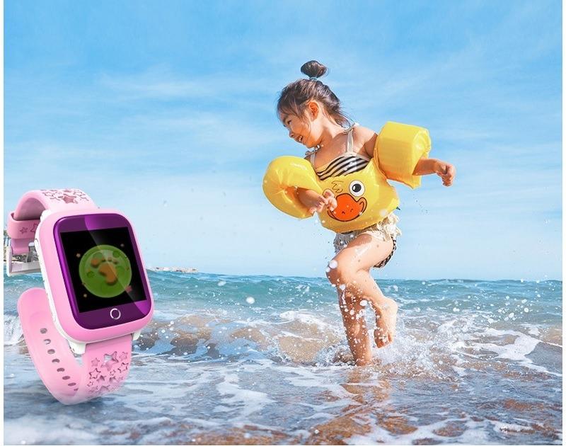 Đồng hồ định vị GPS chống nước Wonlex GW400X dành cho trẻ em