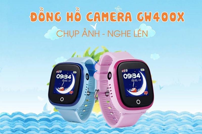 Đồng hồ thông minh, định vị GPS đàm thoại 2 chiều, siêu chống nước dành cho bé