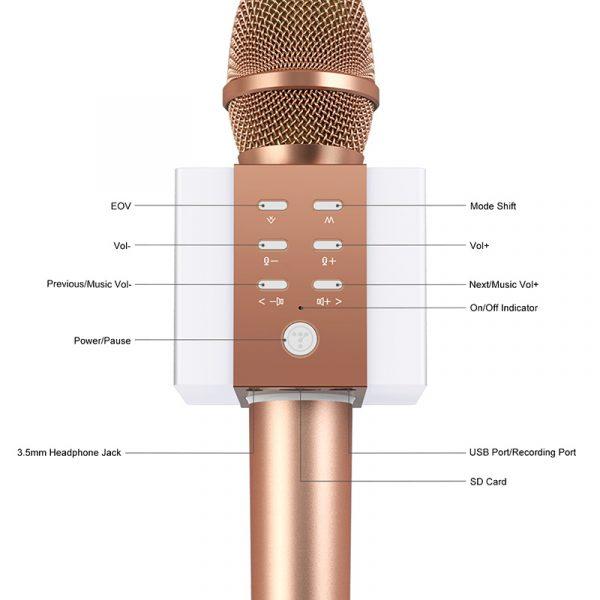 Tosing 008 - Micro Karaoke Kèm Loa Bluetooth Giá Rẻ, Hát Cực Hay 06